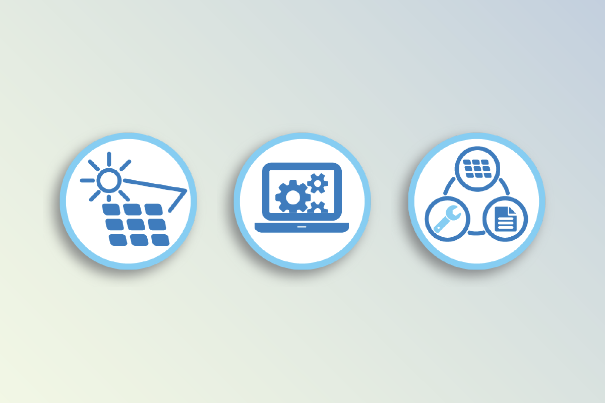 Service and Software Icon System