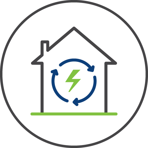 Energy efficiency icon image
