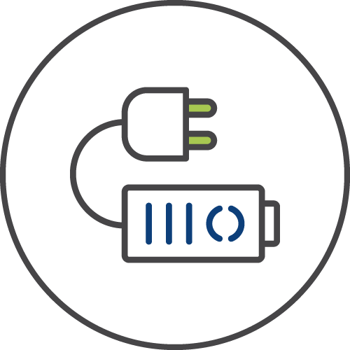 Energy storage icon image