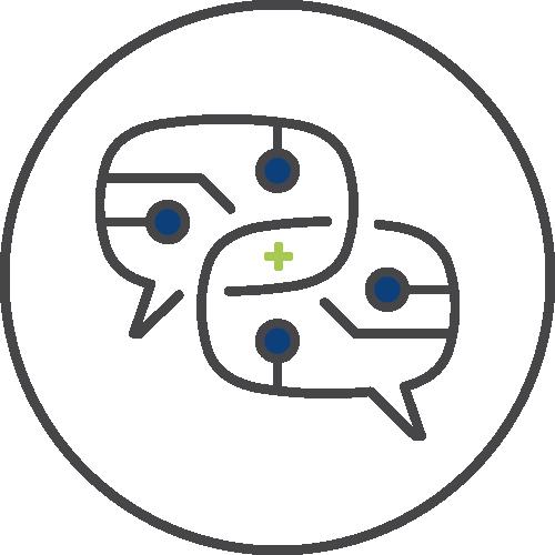 Message development icon image